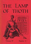 Front Cover of The Lamp of Thoth issue 24